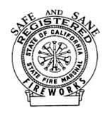 Fire Marshall Fireworks Seal