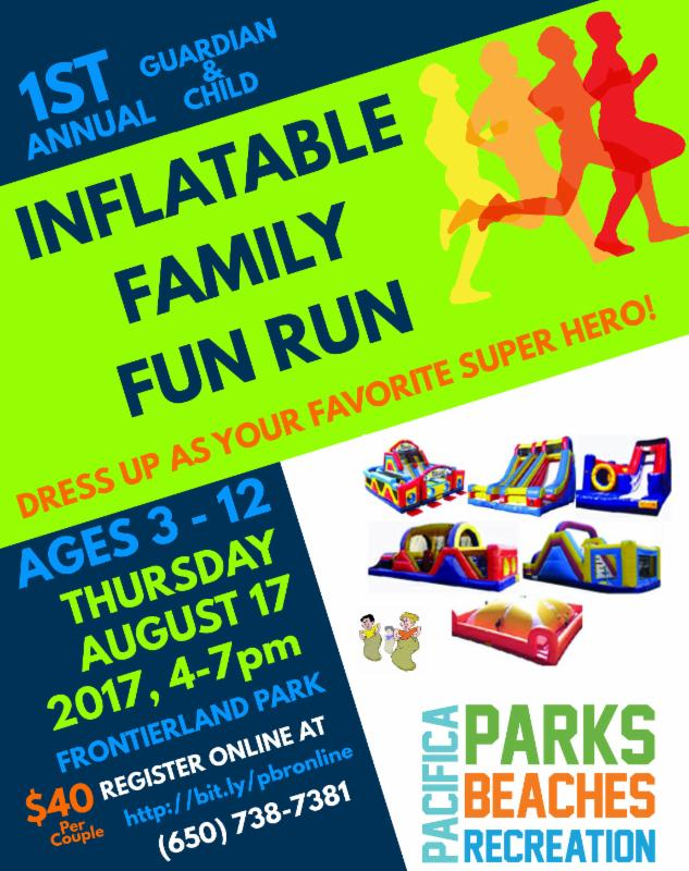 Inflatable Fun Run 2017