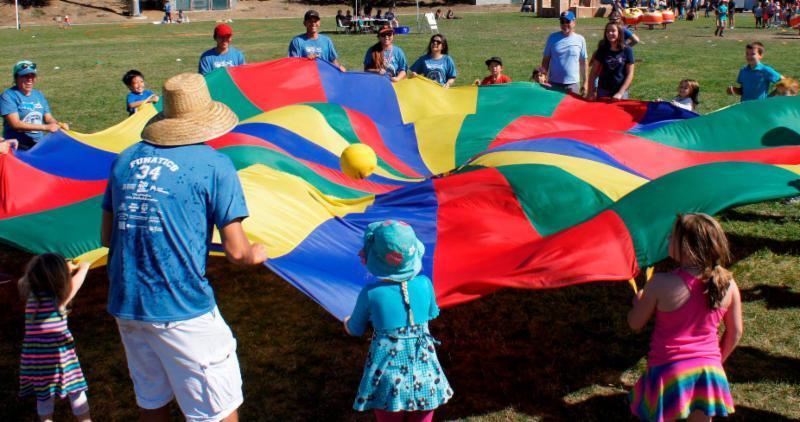 Fun Fest Parachute
