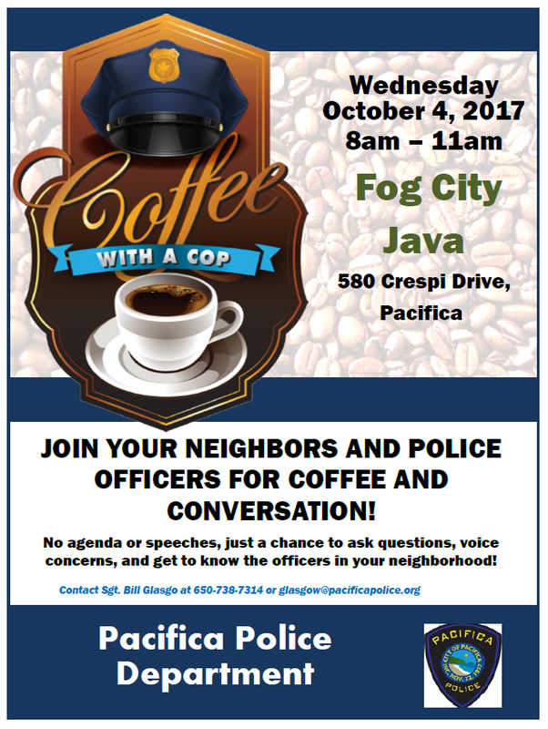 Coffee With a Cop 10-4-17