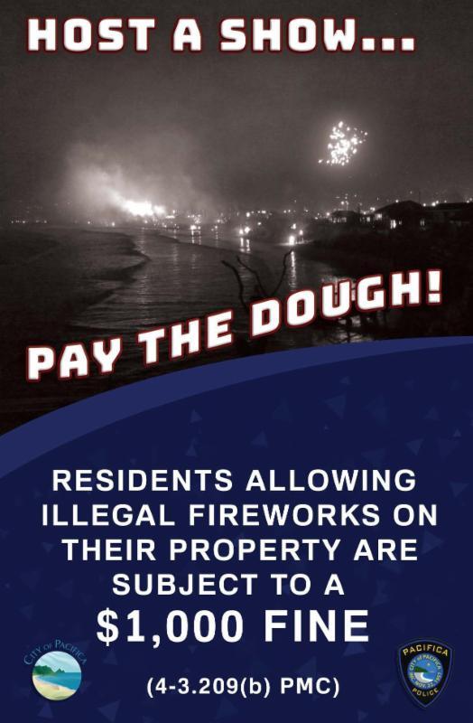 Fireworks Social Host Poster