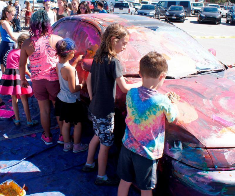 Fun Fest Car Paint