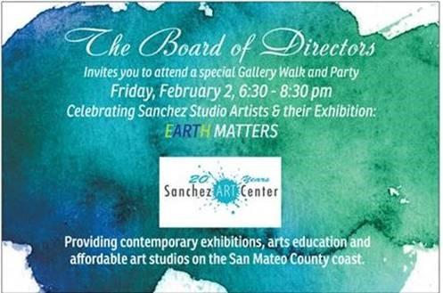 Sanchez Art Center Gallery Walk