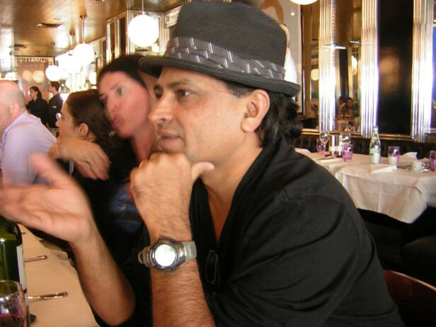 Filmmaker Pan Nalin at Paris Writers Retreat with Wendy Goldman Rohm