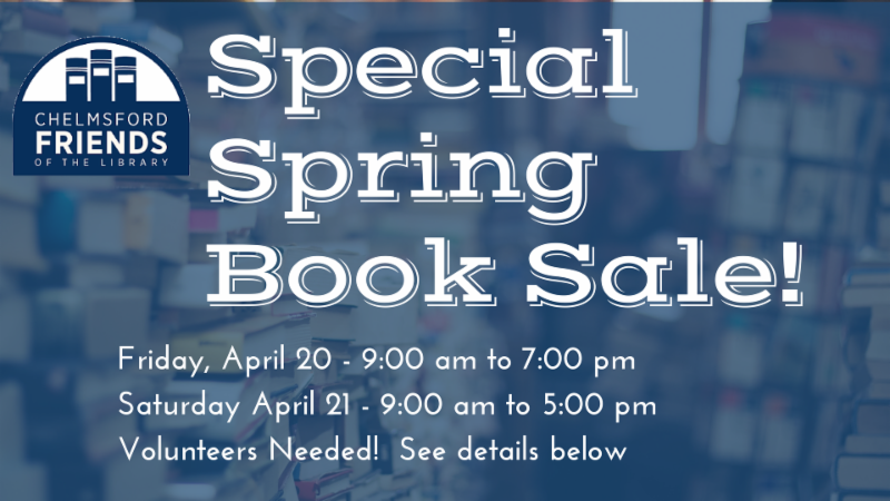 Spring Book Sale 2018
