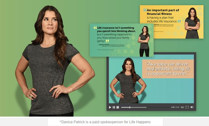 Danica Patrick - Life Insurance Awareness Month 2017 Spokesperson