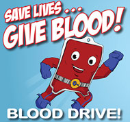 Save Lives... Give Blood!
