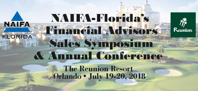 2018 NAIFA Florida Financial Advisors Sales Symposium and Annual Conference
