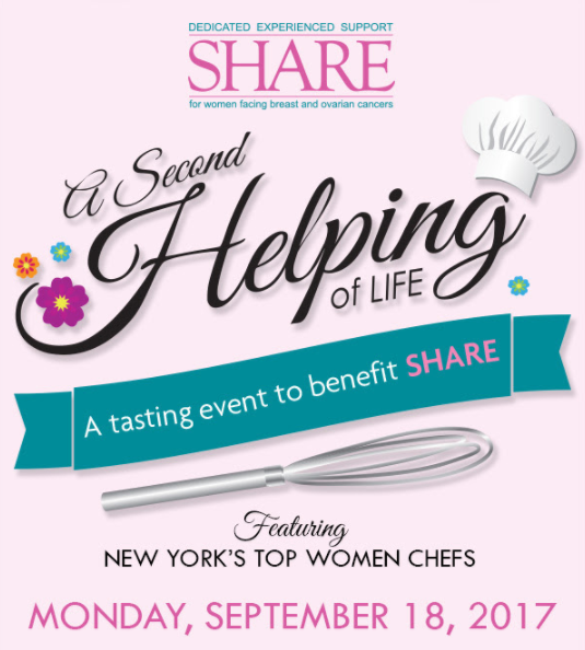 Save the date for A Second Helping of LIfe