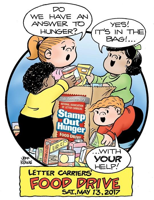 Stamp Out Hunger Food Drive May 13
