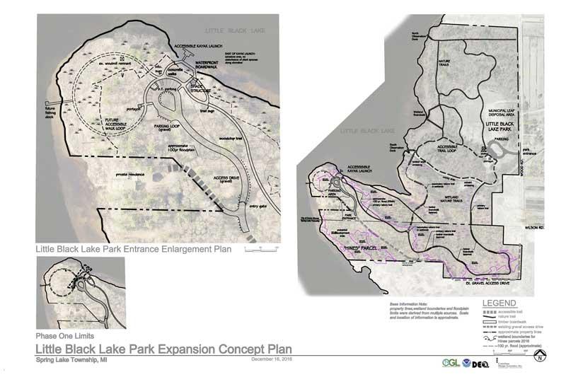 Little Black Lake master plan map