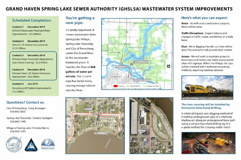 sewer construction information