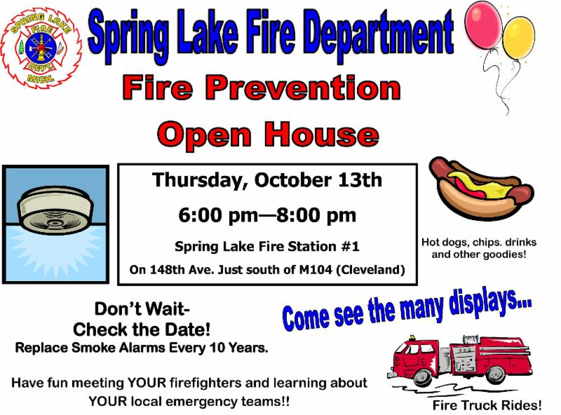fire prevention flyer