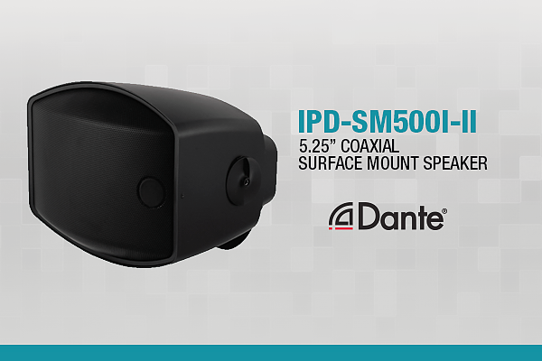First Poe Dante Enabled Speakers By Soundtube