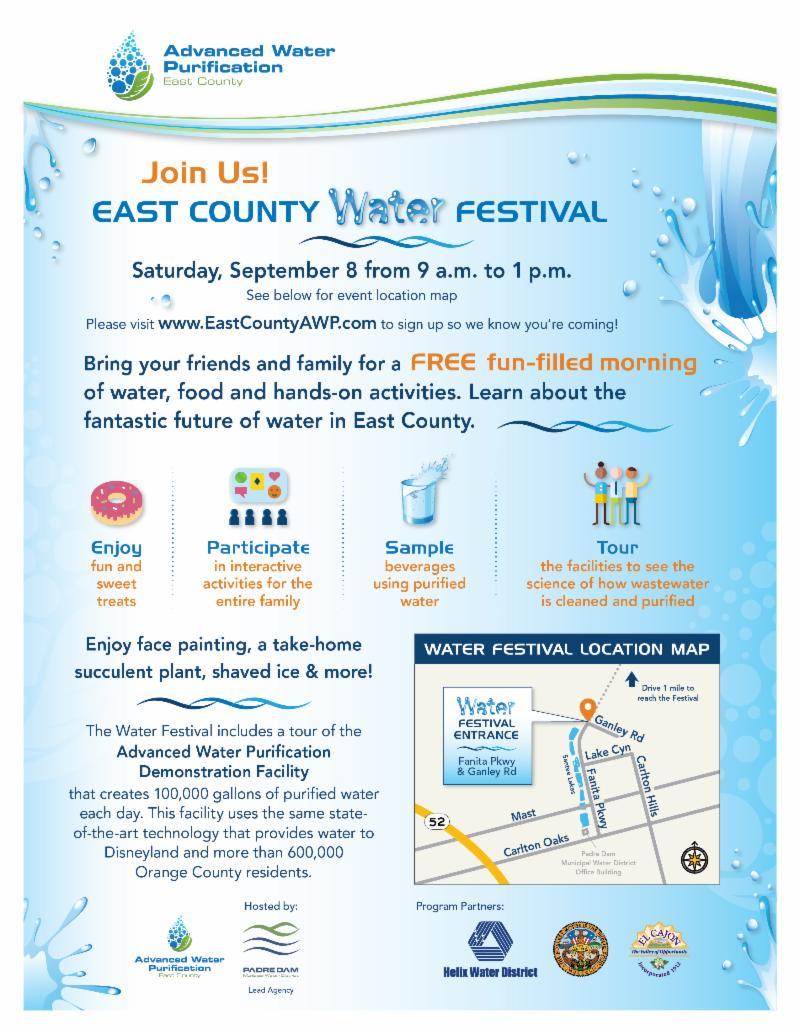Water Festival Invitation