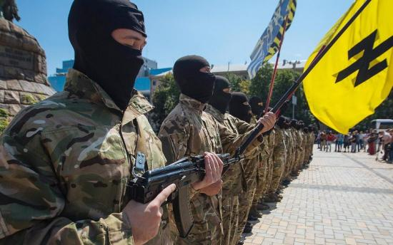 U.S. troops sent to Ukraine in support of forces that include neo-Nazi battalions