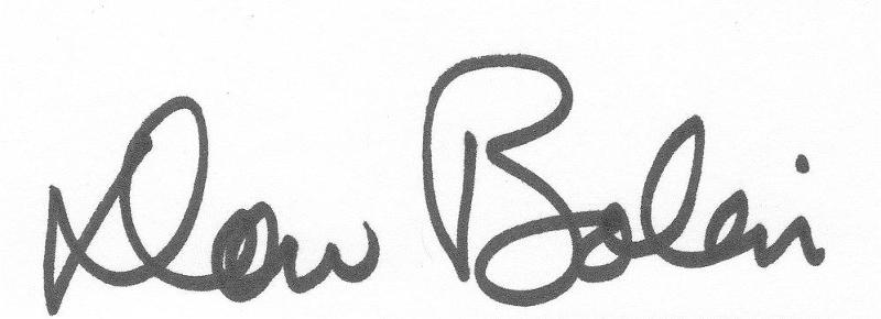 Dan's signature - Dan only?