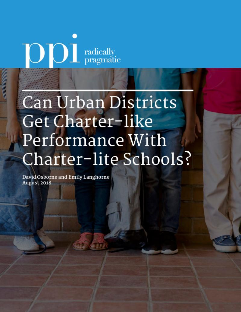 Why Independent Charter Schools Outperform District-Operated Autonomous Schools