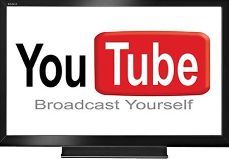 YouTube logo icon