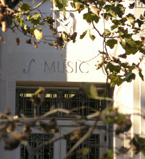 IU music entrance