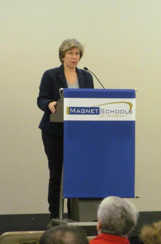 AFT President Randi Weingarten served as the keynote speaker at the National Policy Training Conference