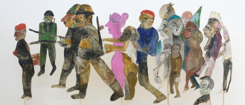Anna Boghiguian: The Loom of History