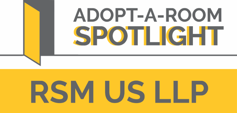 RSM US LLP Adopt a Room Spotlight Header