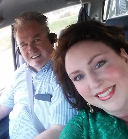 Amy _ David driving out to preach the Gospel in South Africa August 2015