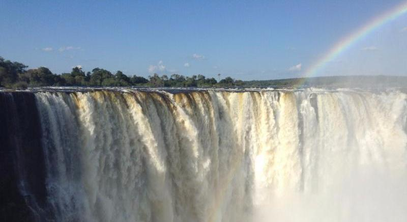 Victoria Falls_ Zimbabwe_ one of the Seven Natural Wonders of the World_