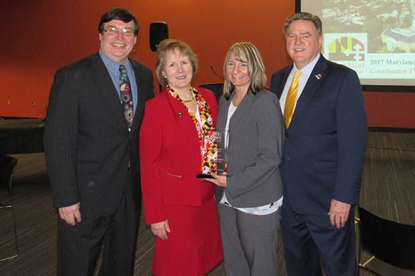 Jenn Fritz wins Maryland Charity Campaign Coordinator of the Year