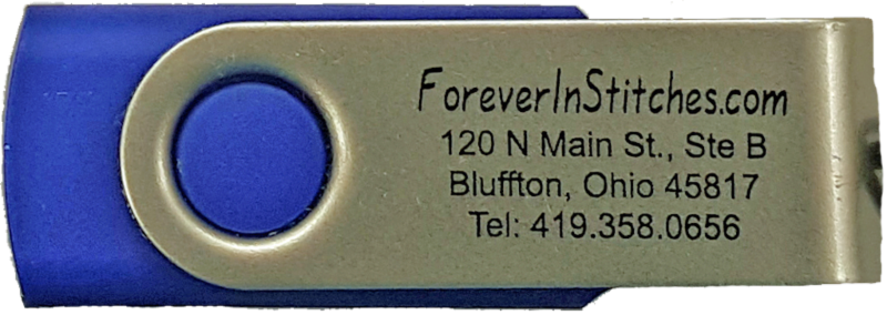 Back of the USB drive