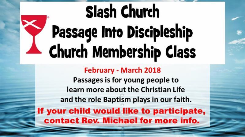 Pastor's Class 2018