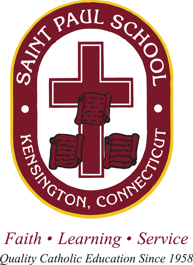Saint Paul School color logo - small