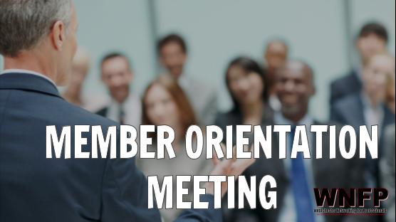 Member Orientation Meeting