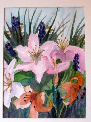 Watercolor by D. Dean