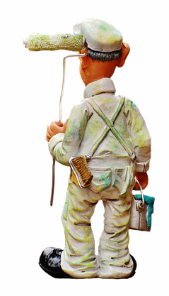 painter figure