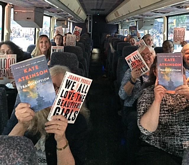 Librarians on the Thursday Book Expo Bus