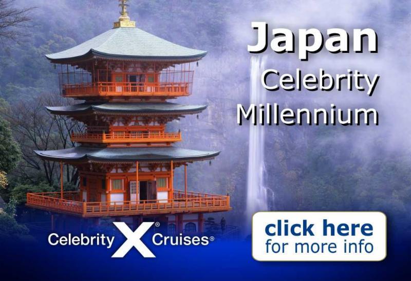 Celebrity Millennium - Japan Explorer