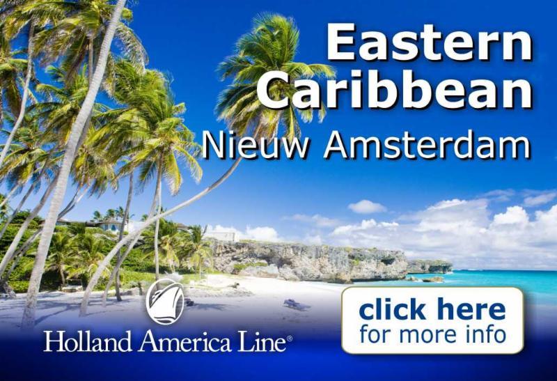 Eastern Caribbean - Nieuw Amsterdam