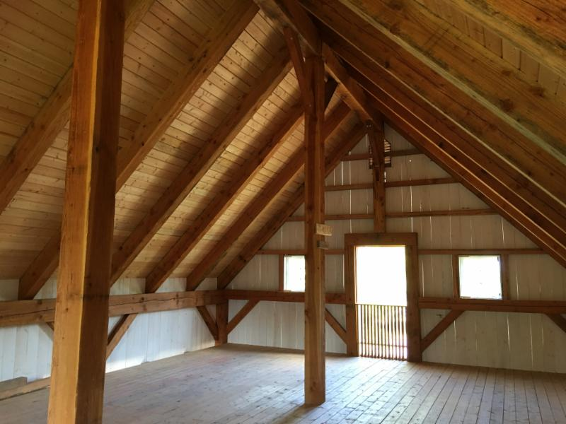 Summer Barn Sale: 24x36 Timber Frame Kit