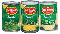 Del Monte veggies