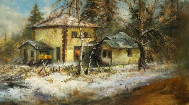 Old Pump House by Stefan Baumann