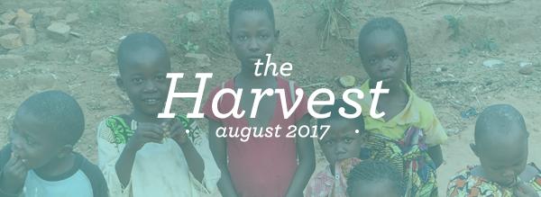 the Harvest banner