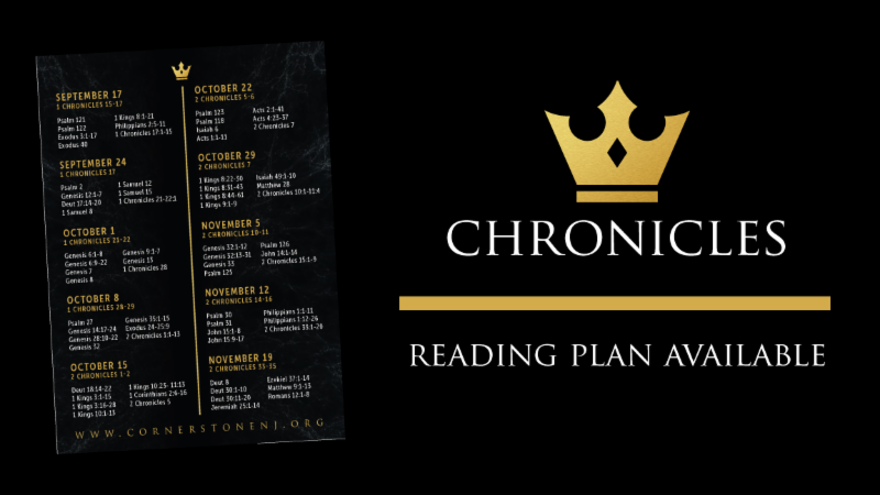Chronicles Reading Plan