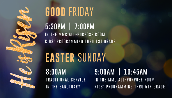 Good Friday _ Easter Services