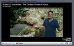 Macomber's YouTube Video on his novel, The Darkest Shade of Honor