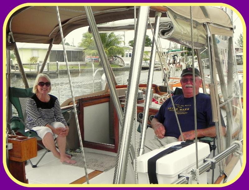 Gene & Jo Weatherup on ship Shenandoah