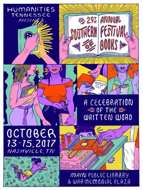 2017 Southern Festival of Books in Nashville, TN