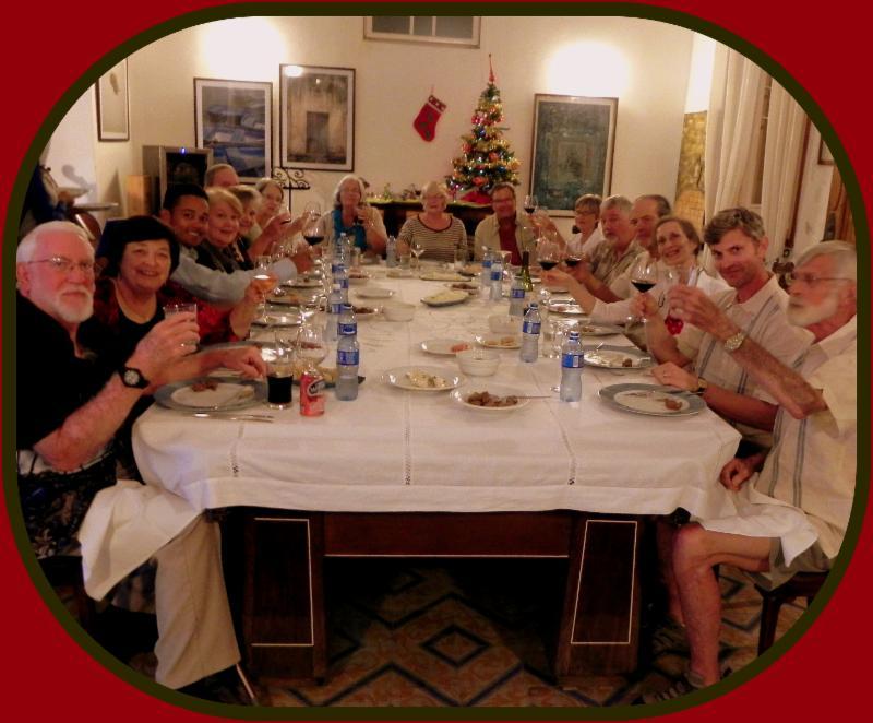 Cheers from Opera Restaurant in Havana, Cuba with Robert Macomber!