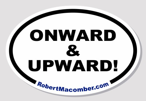 NEW decal ~ Onward & Upward!